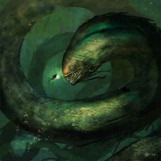 Sea_Monster_by_NgJas