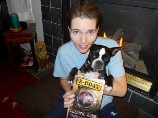 Suzanne Robb con il suo romanzo