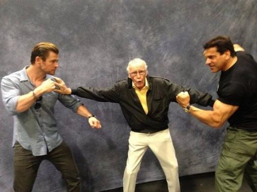 Thor-Chris-Hemsworth-Hulk-Lou-Ferrigno-Stan-Lee