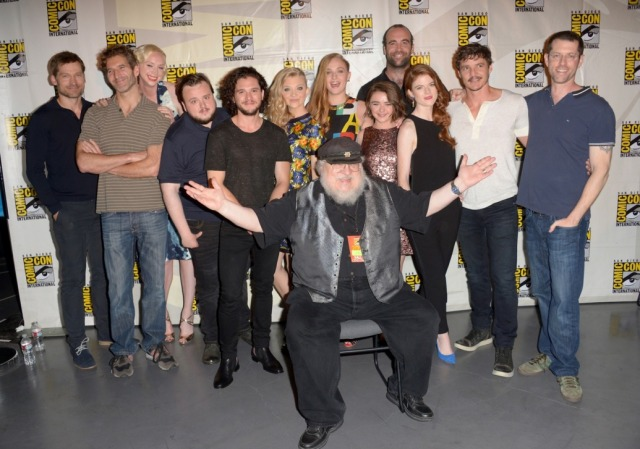 """attends HBO's """"Game Of Thrones"""" panel and Q&A during Comic-Con International 2014 at San Diego Convention Center on July 25, 2014 in San Diego, California."""