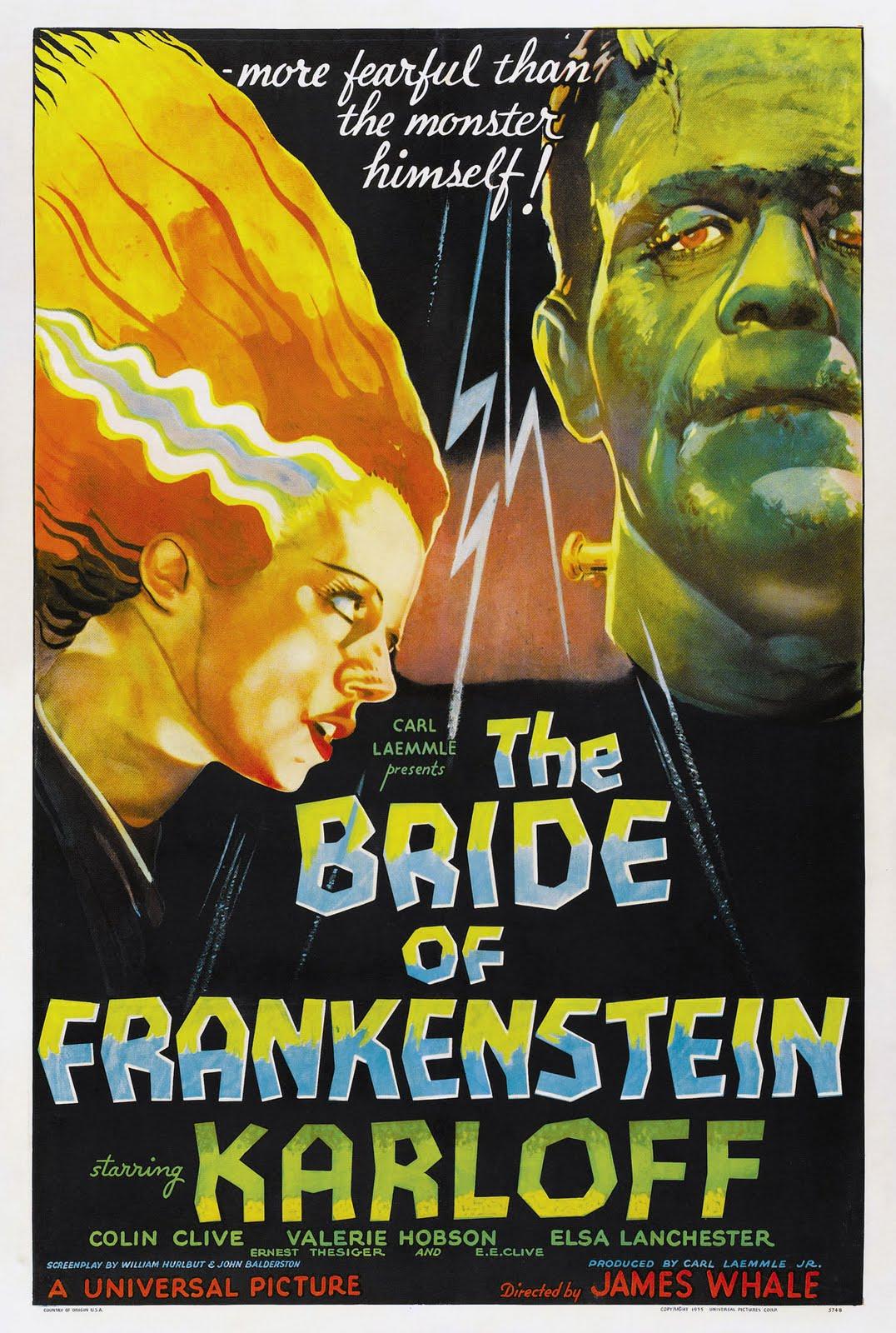 1935: La Moglie di Frankenstein