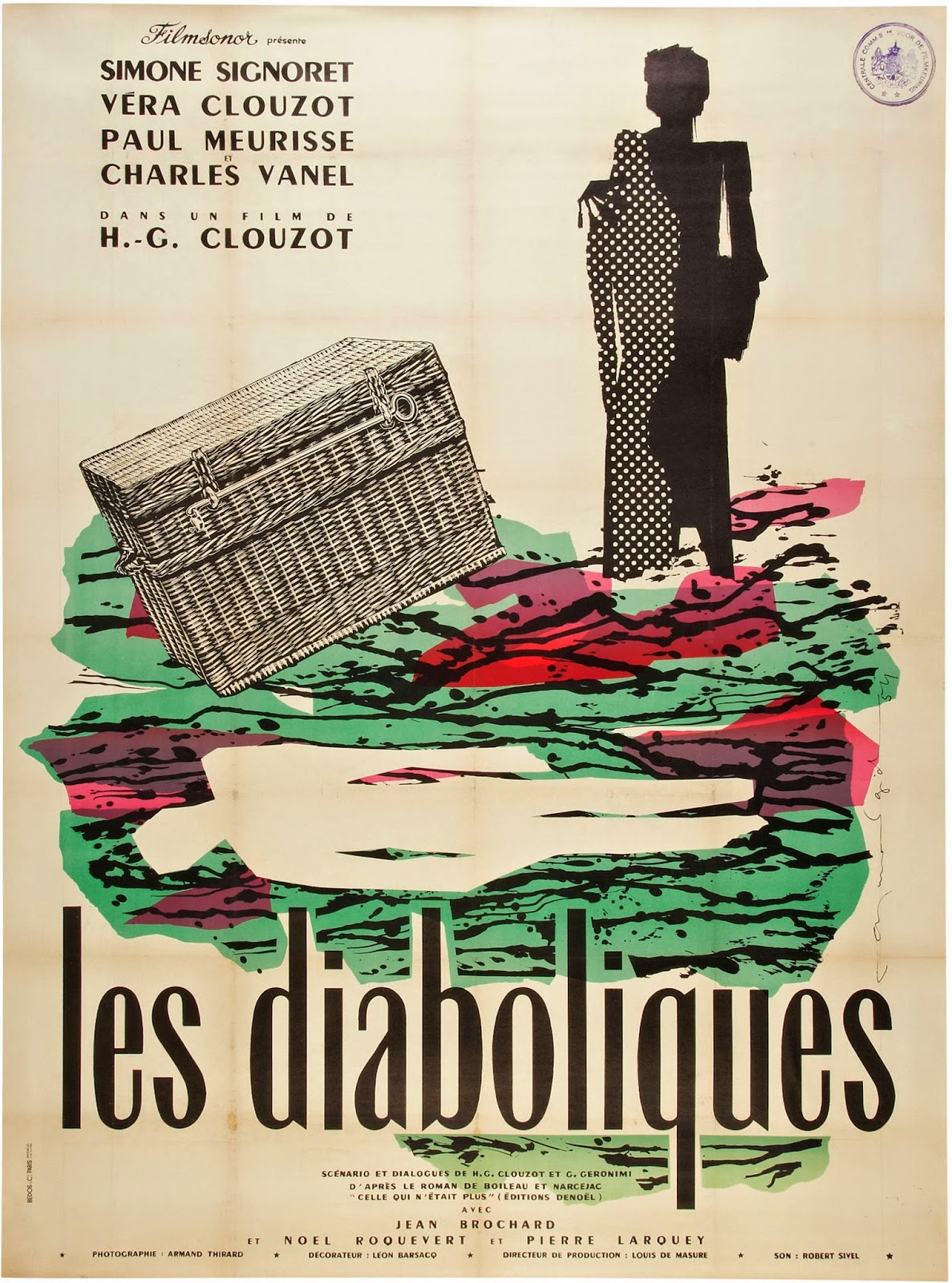 les-diaboliques-french-re-release-poster-by-raymond-gid
